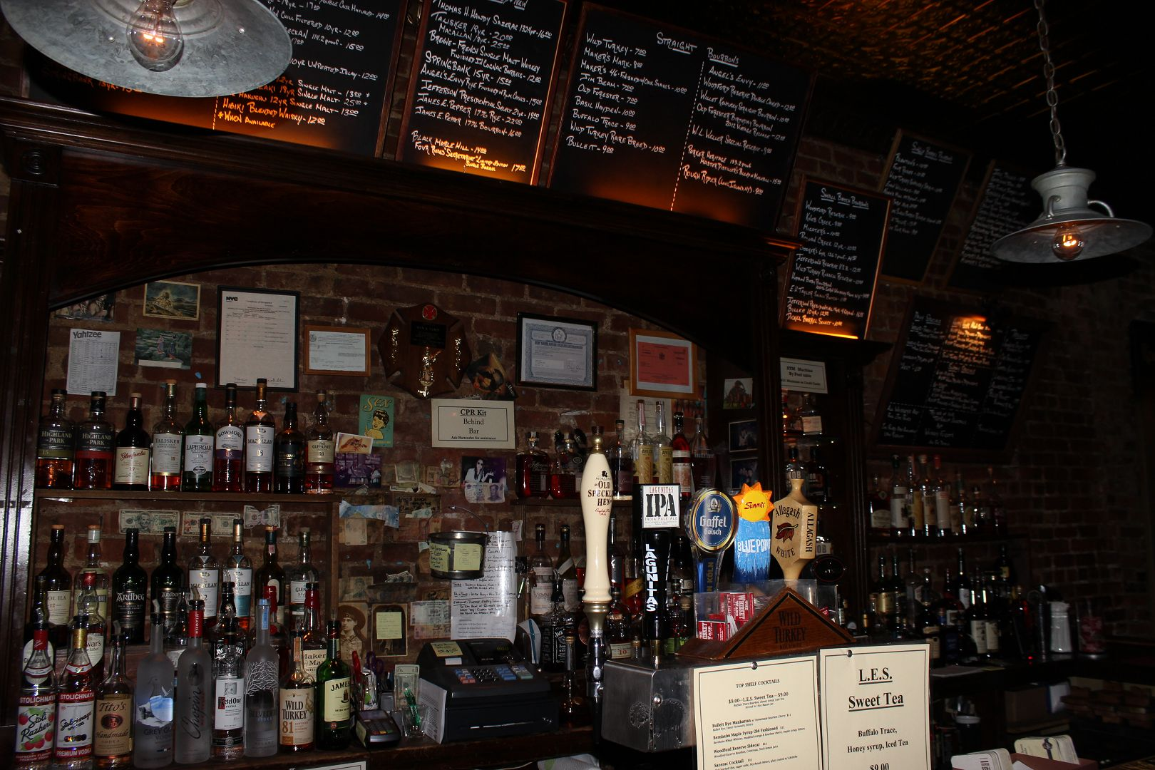 The Whiskey Ward- Lower East Side: Drink Here Now | LocalBozo