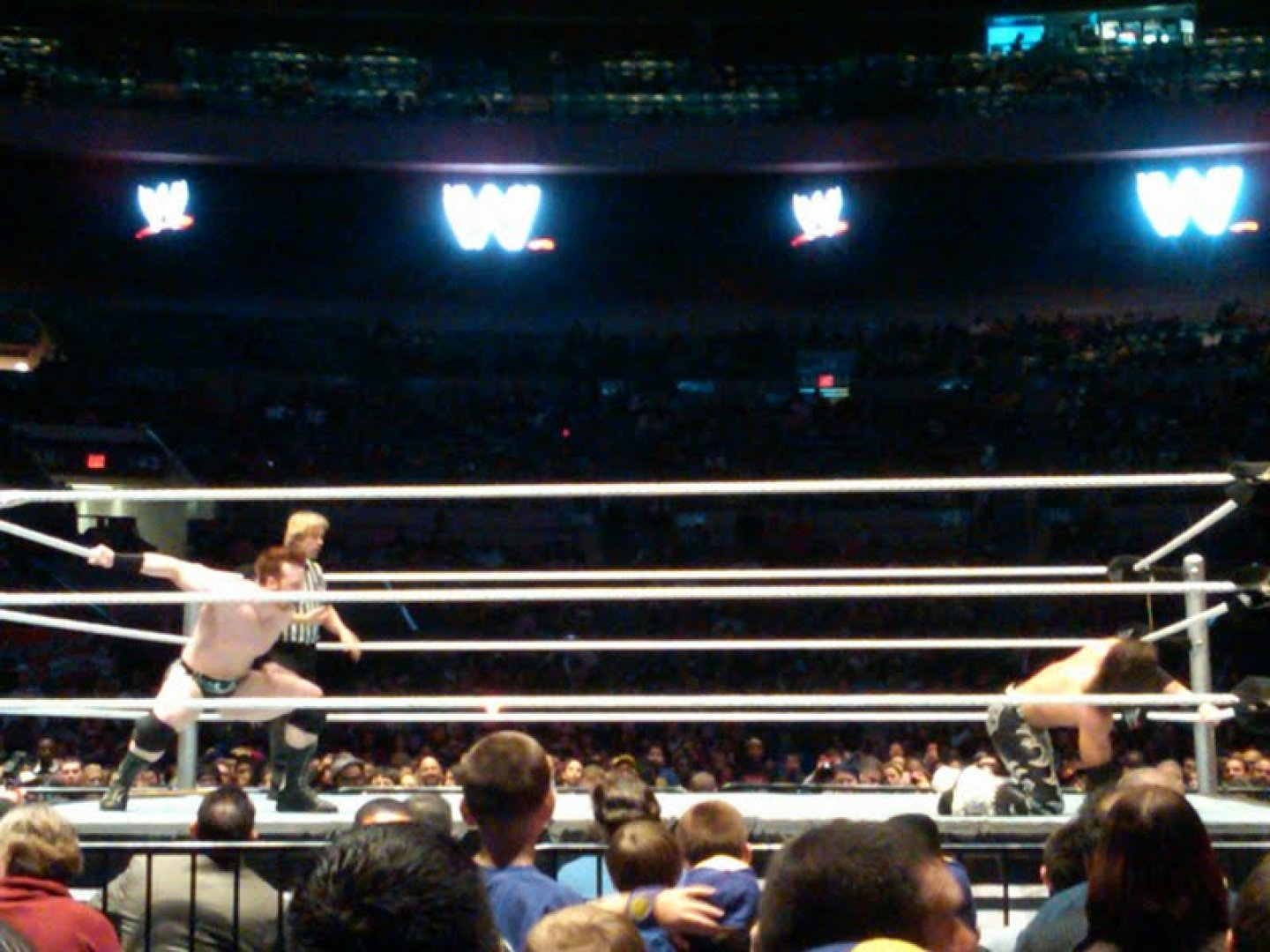 The WWE (and A Blizzard) Invade Madison Square Garden