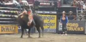 The PBR Brings Bull Riding to New York City