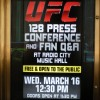 Bring MMA to NYC: UFC Rally @ Radio City Music Hall