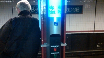 The MTA Help Point Pilot Project