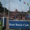 The West 79th Street Boat Basin Café on the Hudson River