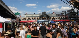 The International Food Truck and Beer Festival Storms the Seaport