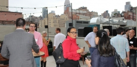 The GVCCC Rooftop Mixer Networks Summer Fun at The Gem Hotel