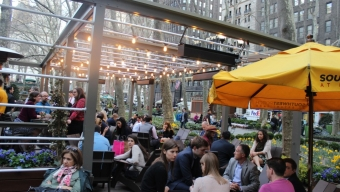 Southwest Porch at Bryant Park – Midtown West: Drink Here Now