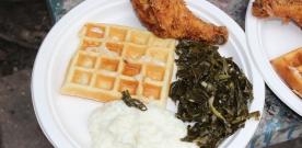Taste Talks Kicks Off with Chicken & Waffles