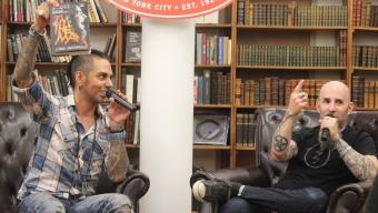 Anthrax's Scott Ian: 'The Man' at Strand Books