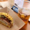 Ramen Burger & Sapporo Team Up For Tasting