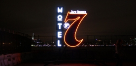 Jack Daniel's Hosts Motel No. 7 with Andrew W.K. and T-Pain in Wild Night Out