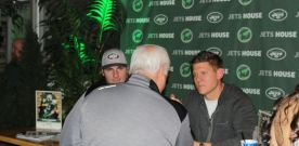Gang Green Welcomes Fans at 3rd Annual Jets House