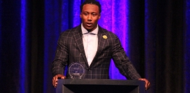 'Sidewalks of New York' Honors Brandon Marshall in 38th Annual Gala
