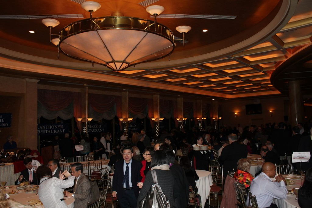 Queens centers for progress presents an evening of fine for Terrace on the park restaurant
