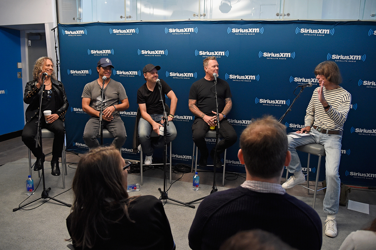 SiriusXM's Town Hall With Metallica To Air On The Band's SiriusXM Channel Mandatory Metallica